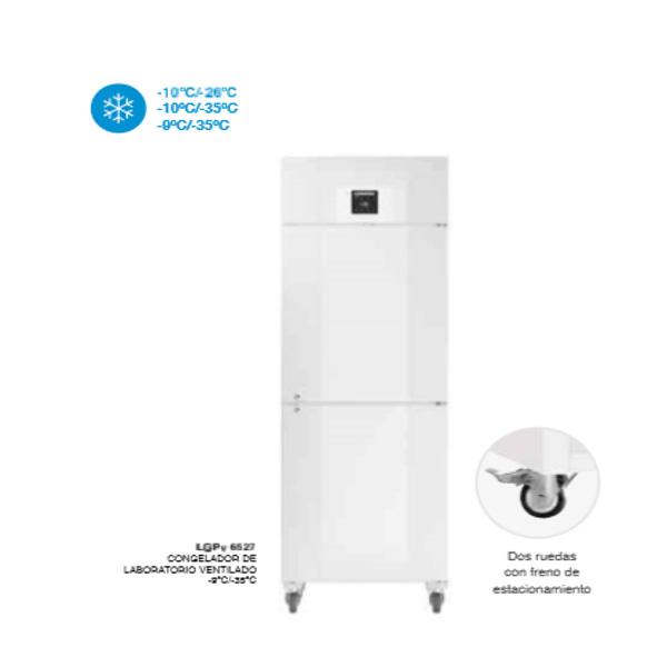 Armarios congeladores ventilados de laboratorio