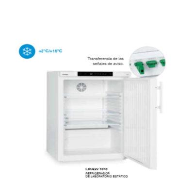 Frigorifico ventilador para laboratorio