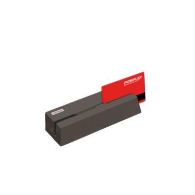 LECTOR TARJETAS 3 PISTAS POSIFLEX USB NEGRO